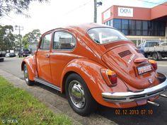 1970 Volkswagen Beetle 1500