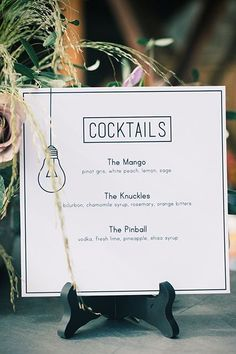 The signature cocktails were made by Oddjob. #refinery29 http://www.refinery29.uk/industrial-san-francisco-wedding#slide-7