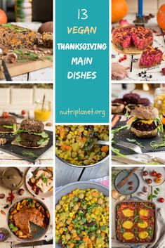 13 Vegan Thanksgiving Main Dishes 13 GlutenFree Vegan Thanksgiving Main Dishes casseroles quiches burgers stewscurries rice dishes and vegan roasts Enjoy the holidays Thanksgiving Main Dishes, Vegan Thanksgiving Dinner, Thanksgiving Recipes, Holiday Recipes, Dinner Recipes For Kids, Healthy Dinner Recipes, Vegan Recipes, Delicious Recipes, Anti Candida Recipes