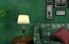 green bedroom wall ideas - Google Search