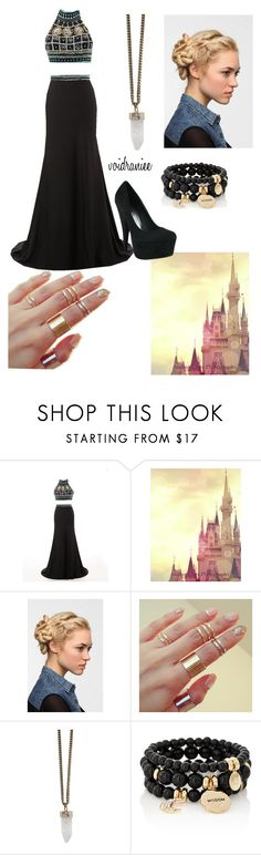"""Untitled #88"" by voidraniee on Polyvore featuring Disney, Eva NYC, Givenchy and The Limited"