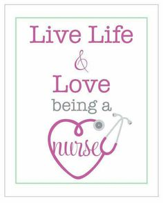 Love being a nurse!