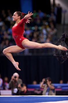 Jordyn Wieber (United States) on floor at the 2012 Pacific Rim Championships