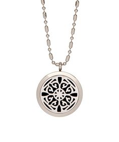 Look what I found on #zulily! Stainless Steel Geometric Essential Oil Diffuser Locket #zulilyfinds