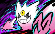 Shiny Mega Gengar | Nightmare by ishmam