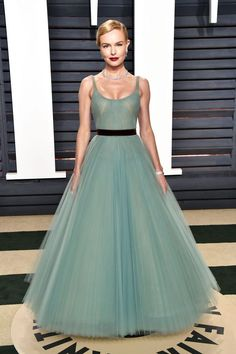 Kate Bosworth In J. Mendel - At the Vanity Fair Oscar Party