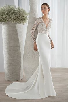 Wedding gown by Sposabella by Demetrios.