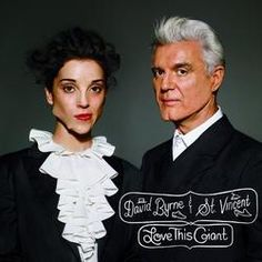 David Byrne And St. Vincent Love This Giant on LP David Byrne and St. Vincent have joined forces for the release of the album Love This Giant. Best Album Art, Best Albums, Top Albums, Sufjan Stevens, Anne Clark, David, Pochette Album, Saint Vincent, Pop Rock