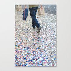 LISBON Stretched Canvas by Sébastien BOUVIER - $85.00 Stretched Canvas, Lisbon, Stretches, Decor, Art, Art Background, Decoration, Dekoration, Kunst