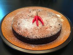 Playing With My Food!: Flourless Spicy Dark Chocolate Cake