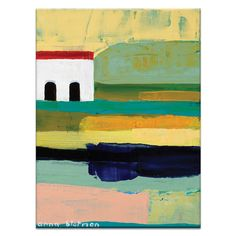 Rustic by Anna Blatman Painting Print on Wrapped Canvas