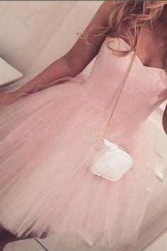 Light Pink Short Prom Homecoming Dresses Simple A-line Sweetheart Neckline Cheap 8th Grade Graduation Dresses CS038
