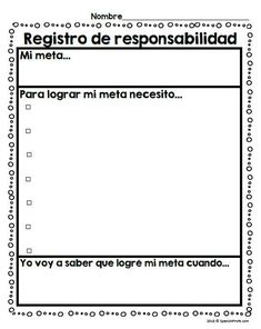 Growth Mindset activities in Spanish for elementary school kids in Spanish immersion, bilingual and dual language classes. Worksheets, writing activities, and posters in Spanish 1st, 2nd, 3rd and 4th grades. Crecimiento del aprendizaje. Mentalidad de crec