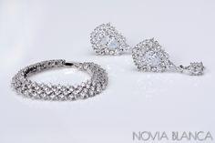 Biżuteria ślubna/bridal jewelry www.novia-blanca.pl www.novia-blanca.com