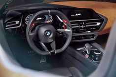 BMW Z4 Concept dashboard