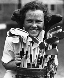 Patricia Jane Berg (February 13, 1918 – September 10, 2006) was an American professional golfer and a founding member and then leading player on the Ladies Professional Golf Association (LPGA) Tour during the 1940s, 1950s and 1960s. Her 15 major title wins remains the all-time record for most major wins by a female golfer. She was inducted into the World Golf Hall of Fame in 1951.