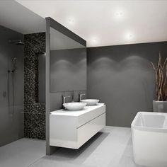 Complete badkamers Warmteservice heeft voor u complete badkamers samengesteld. D