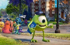 """Novo trailer com Mike e Sulley na faculdade em """"Universidade Monstros"""""""