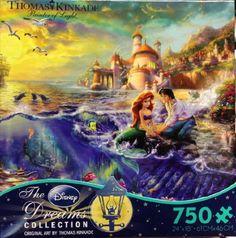 Thomas Kinkade Little Mermaid Puzzle � The Toy Shop