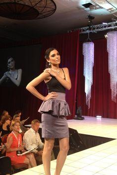 #AGSMember #Ashi at the A2012 American Gem Society Miami Conclave Fashion Show  #AmericanGemSociety  @pinterest.com/amergemsociety/