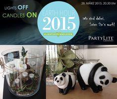 Die Partylite Panda:=)