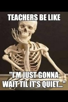 Teacher humor @ Taylor this is summer care