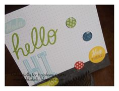 #scrapbook #card featuring the #epiphanycrafts Shape Studio Tool Round 14 and @mambipins #mambi #me&mybigideas