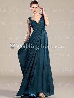 Elegant Bridesmaid Dresses_Teal