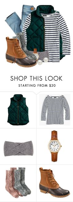 Apple Picking by kim-feth on Polyvore featuring J.Crew, L.L.Bean, AK Anne Klein, Timex, Black, American Eagle Outfitters, preppy, classy, prepster and Prep