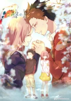 / Koe no Katachi // A Silent Voice // Shouko Nishimiya // Shouya Ishida Anime Love, Kyoani Anime, Anime Kawaii, Me Me Me Anime, Anime Art, Anime Guys, Koe No Katachi Anime, A Silence Voice, A Silent Voice Anime