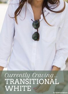 How to wear white after Labor Day #style #tip