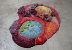 Thymely: Pastureland inspired Carpets by Alexandra Kehayoglou