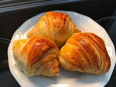 CROISSANTS NO THERMOMIX/BIMBY!!!!! - YouTube Croissants, Yummy Food, Delicious Recipes, Food Hacks, Baked Potato, Baking, Ethnic Recipes, Youtube, Pasta