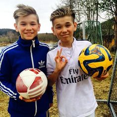 Marcus, Martinus, and Football (Soccer)