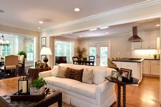 Brookhaven Ranch Expansion - traditional - living room - atlanta - by Blake Shaw Homes, Inc