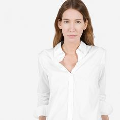 Everlane | The Relaxed Poplin Shirt
