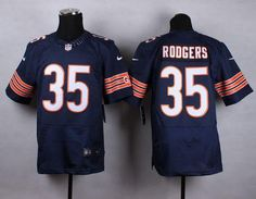 """$23.88 at """"MaryJersey""""(maryjerseyelway@gmail.com) Nike Bears 35 Jacquizz Rodgers Navy Blue Team Color Men Stitched NFL Elite Jersey"""