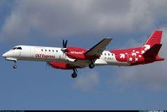 Saab 2000, OLT Express, D-AOLC, cn 016, first flight 24.3.1995 (Deutsche BA), OLT Express delivered 11.11.2011. Foto: Toulouse, France, 31.8.2012.