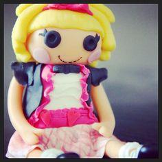 Modelat nina Lalaloopsy / Modelado muñeca Lalaloopsy / Lalaloopsy topper figure