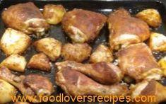 paprika rub 2 reggemaak Chicken, Meat, How To Make, Food, Essen, Meals, Yemek, Eten, Cubs