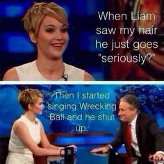 Haha well played…I hate the hunger games but i love Jennifer Lawrence lol J Law, The Hunger Games, Lol, Haha Funny, Funny Stuff, That's Hilarious, Freaking Hilarious, Funny Quotes, Funny Memes