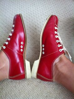 Bowling Shoes Vintage 1955
