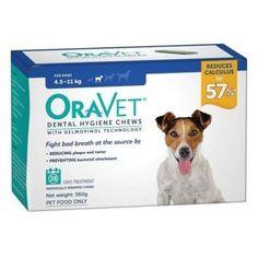 Oravet Dental Chews for Dogs 4.5-11kg - 28 in a Box