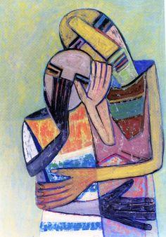 WIFREDO LAM - pintor cubano 1902-1982