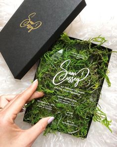 Secret garden wedding invitation inspiration from Cassey Ho featuring b. - Secret garden wedding invitation inspiration from Cassey Ho featuring beautiful calligraph - Acrylic Wedding Invitations, Garden Wedding Invitations, Wedding Invitation Inspiration, Wedding Stationary, Wedding Invitation Cards, Wedding Cards, Party Invitations, Creative Wedding Invitations, Original Wedding Invitations