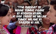 50 Bollywood Romantic Dialogues That Will Make You Fall In Love All Over Again Romantic Song Lyrics, Love Songs Lyrics, Song Lyric Quotes, Romantic Love Quotes, Movie Quotes, Pretty Lyrics, Romantic Dialogues, Love Dialogues, Famous Dialogues
