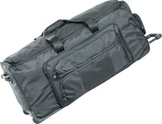 "Netpack 40"" Ultra Deluxe Wheeled Duffel Black - via eBags.com!"