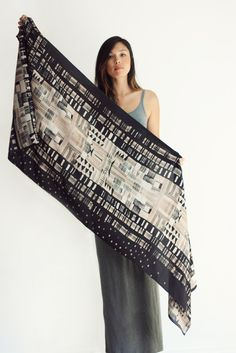Love the new Dealtry scarves. Can't wait to wear this one. Hand-painted then digitally printed.