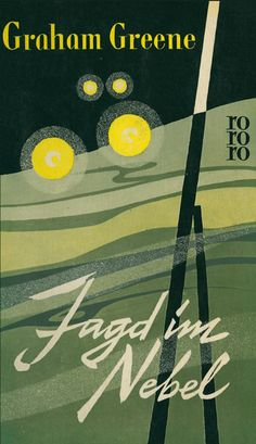 book cover for rororo by karl gröning jr. and gisela pferdmenges, 1950s