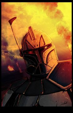 Captain Rex by LivioRamondelli on DeviantArt